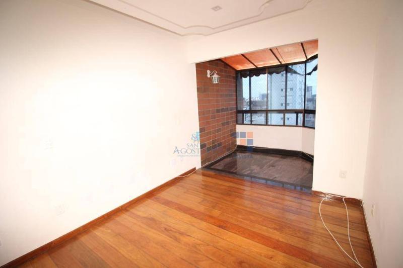 Apartamento com 4 dormitórios para alugar, 140 m² por R$ 3.000,00/mês - Santo Agostinho - Belo Horizonte/MG Foto 8