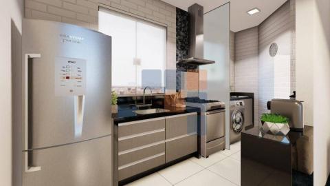 Foto Apartamento com 2 dormitórios à venda, 57 m² por R$ 380.000,00 - Nova Suíssa - Belo Horizonte/MG