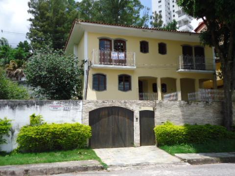 Foto Casa com 4 dormitórios para alugar, 326 m² por R$ 4.900,00 - Santa Lúcia - Belo Horizonte/MG