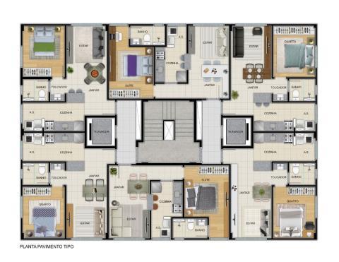 Foto Apartamento com 1 dormitório à venda, 39 m² por R$ 472.440 - Santa Efigênia - Belo Horizonte/MG