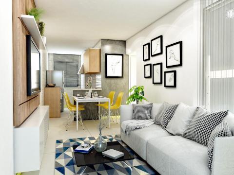Foto Apartamento de 2 quartos com 1 vaga no Diamante (Barreiro), BH