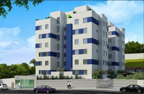 Foto Apartamento com área privativa de 2 quartos, 1 vaga no bairro Diamante (Barreiro), BH