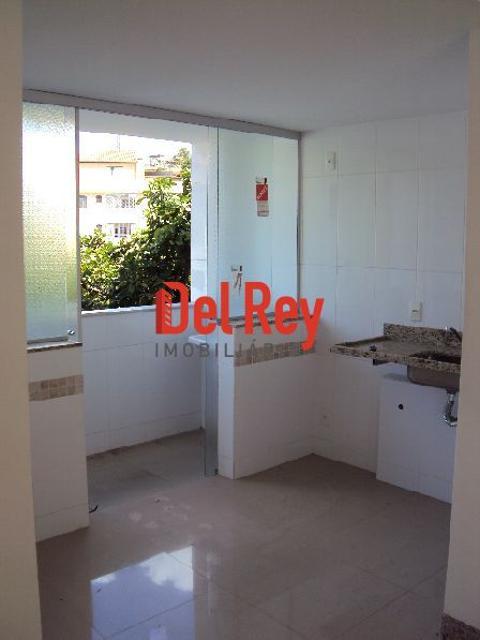 Foto Cobertura localizado em Caiçaras. 2 quartos (1 suítes), 1 banheiros e 2 vagas.