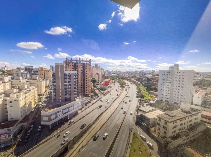 Sala localizado em Sagrada Família com área útil 22.91 m². Foto 8