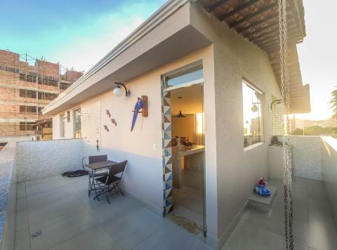 Foto Cobertura localizado em Pampulha. 4 quartos (2 suítes), 3 banheiros e 2 vagas.