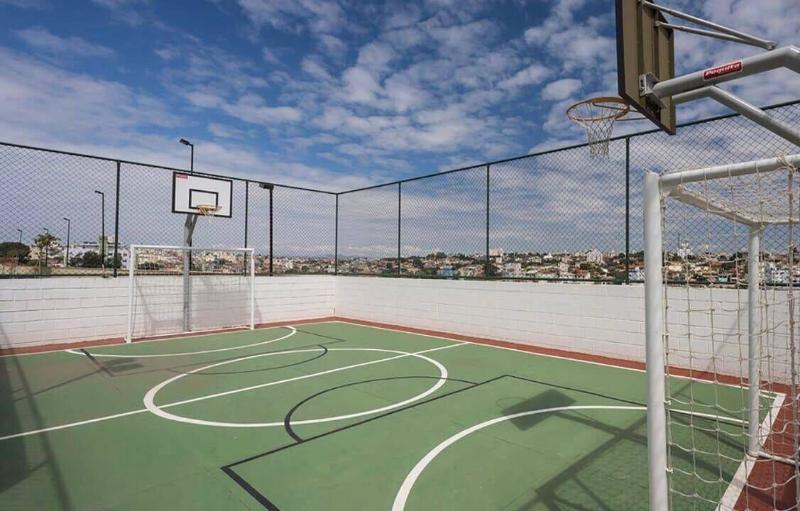 Apartamento com 2 dormitórios à venda, 55 m² por R$ 275.000 - Jardim Guanabara - Belo Horizonte/MG Foto 4