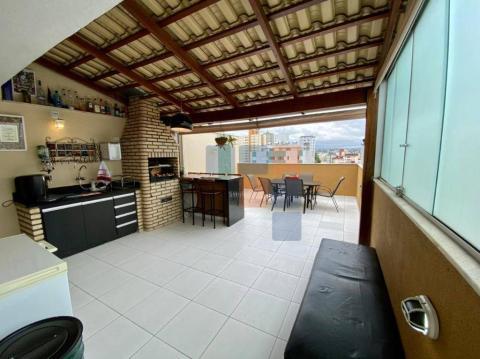Foto Cobertura com 2 dormitórios à venda, 120 m² por R$ 430.000 - Castelo - Belo Horizonte/MG
